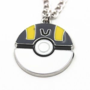 Pokemon Anime Cosplay Elf Ball Necklace Gift-H51